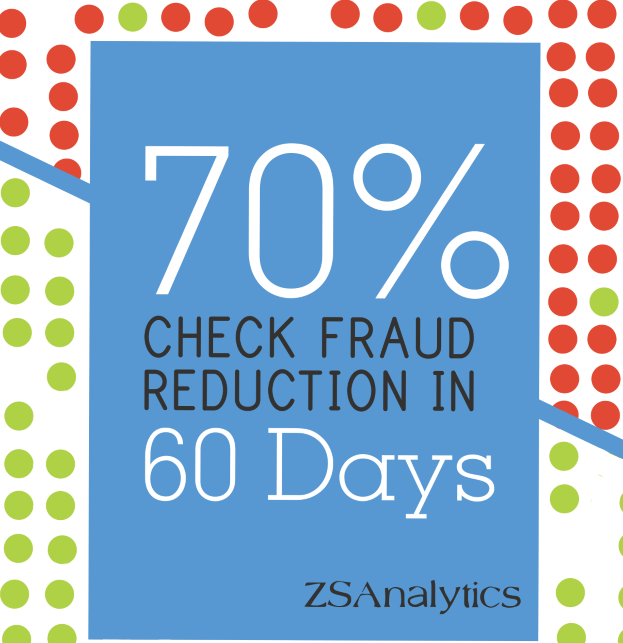 We've delivered 1500% ROI by reducing debt card fraud, 25% improvement on fraudulent new account detection, and $millions saved through deposit fraud detection.